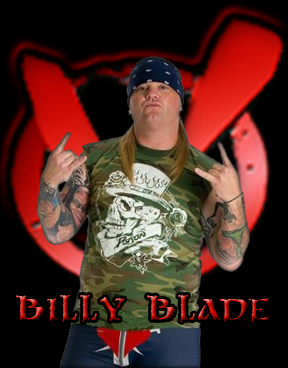 """The Rock of Love"" BIlly Blade - Vendetta Pro Wrestling Heavyweight Champion"