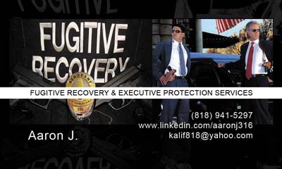 Fugitive Recovery and Executive Protection Services