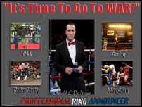 Donald DeNoyer - Professional Ring Announcer
