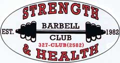 Strength & Health Barbell Club