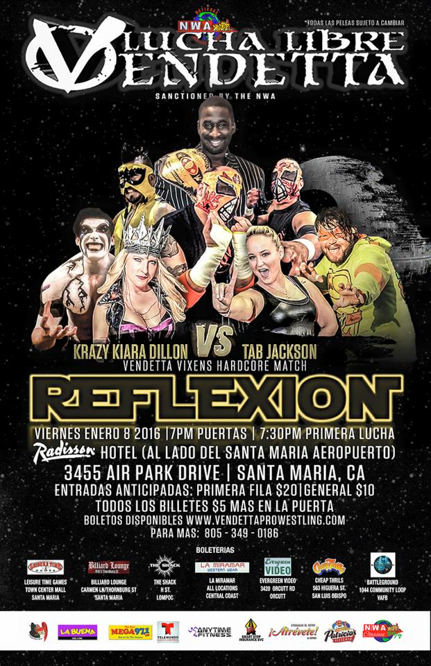 Reflexion 2015 event Spanish flyer