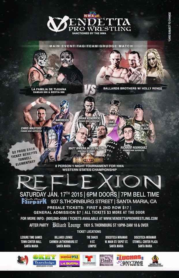 Reflexion 2015 event flyer