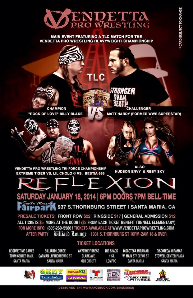Reflexion 2014 event flyer