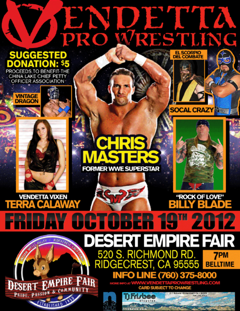 LIVE @ Desert Empire Fair 2012 event flyer