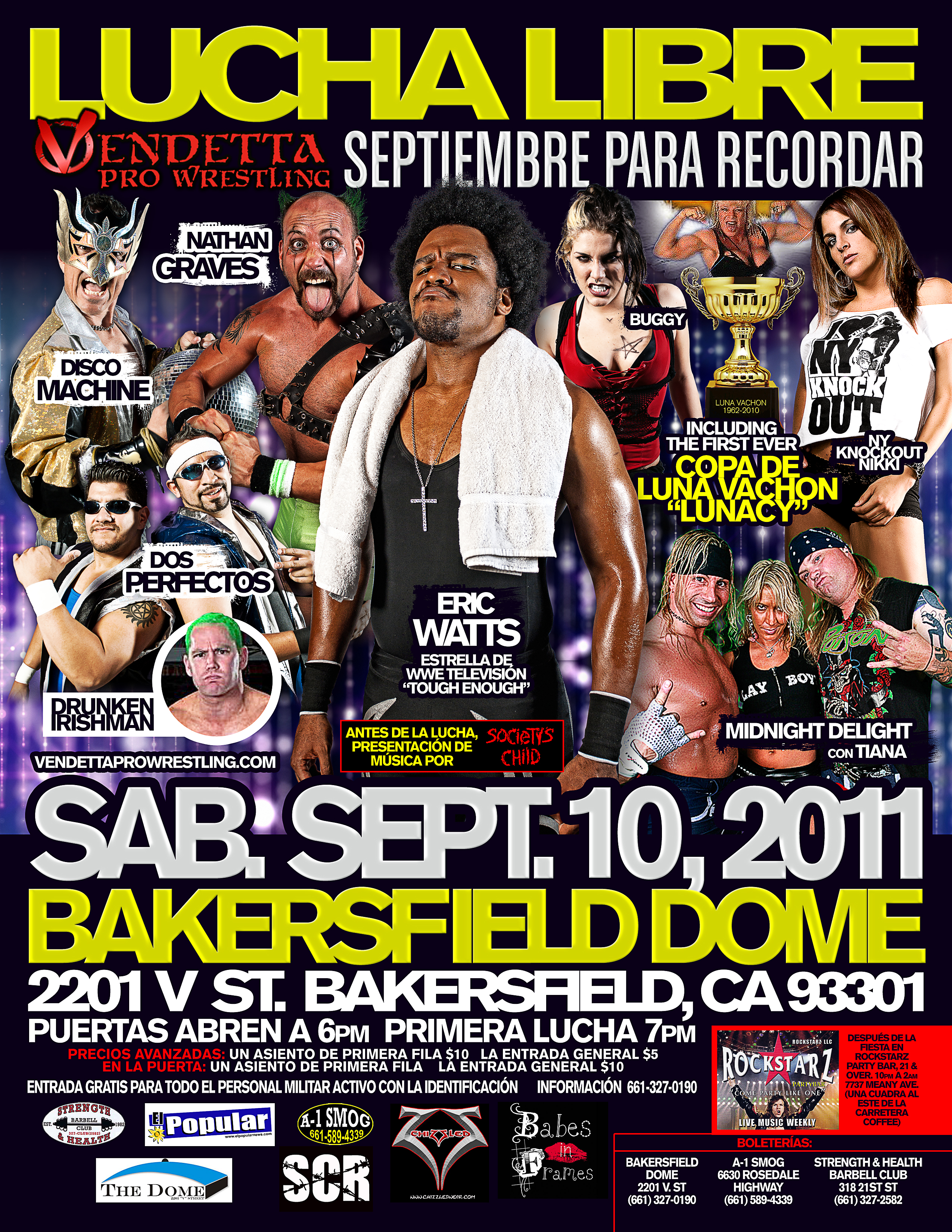 September 2 Remember 2011 Spanish event flyer