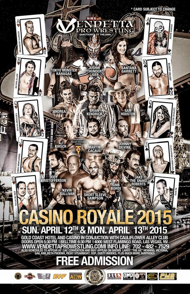 Casino Royale 2015 English event flyer 4