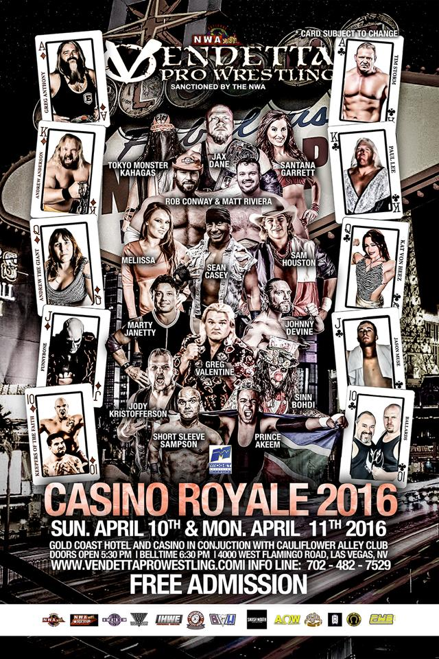 Casino Royale 2015 English event flyer 2
