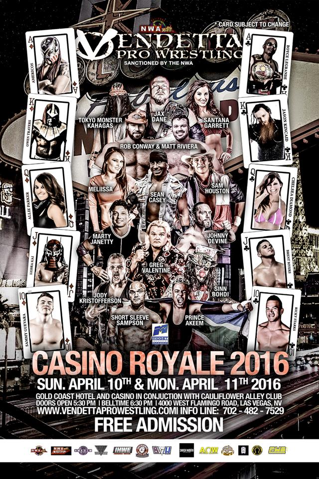 Casino Royale 2016 English event flyer 3