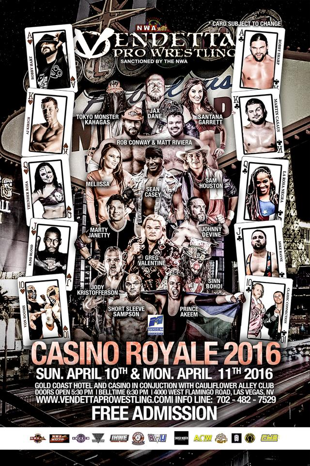 Casino Royale 2016 English event flyer 4