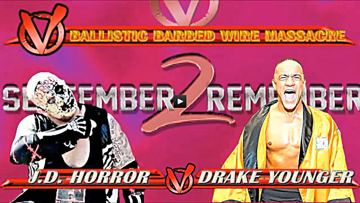 J.D. Horror vs. Drake Younger - Ballistic Barbed Wire Massacre Match