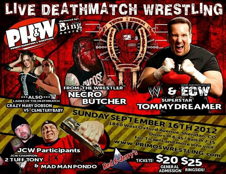 Primo's Hardcore & Wrestling presents: Slave to the Deathmatch III!