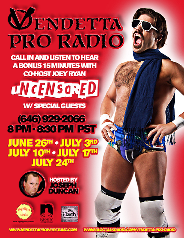 Joey Ryan on Vendetta Pro Radio
