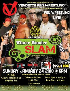 Winter Wonder Slam Jan 2010 event flyer