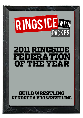 Ringside with Packer 2011 Co-Federation of the Year Award